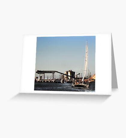 MELILANI INDUSTRIAL VISION Greeting Card