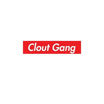 Clout Gang Red Box Logo by subieliu