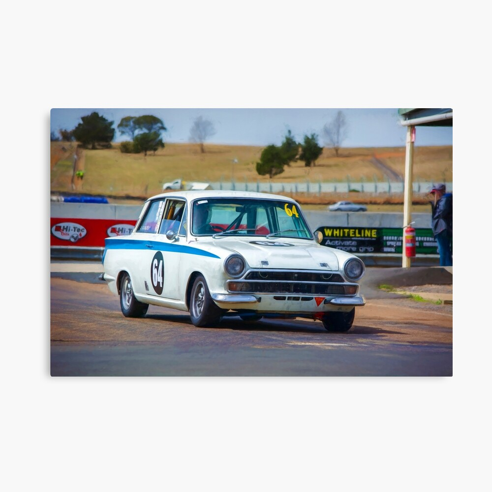 1964 Ford Cortina Canvas Print