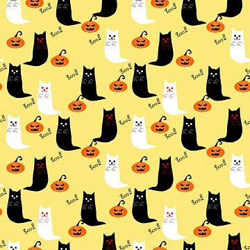 Adorable Halloween Ghost Cat by pugmom4