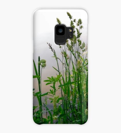 Grass on the banks of the Rideau River, Ottawa Case/Skin for Samsung Galaxy