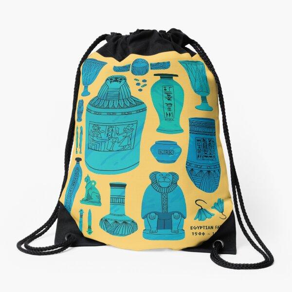 Egyptian Faience Drawstring Bag