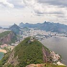 Corcovado to Copacabana from Sugarloaf Mountain, Rio, Brazil by Ben Ryan