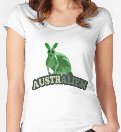 AustrAlien t-shirt Women's Fitted Scoop T-Shirt