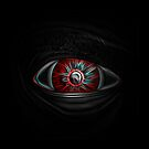Neon Red Eye by errorface