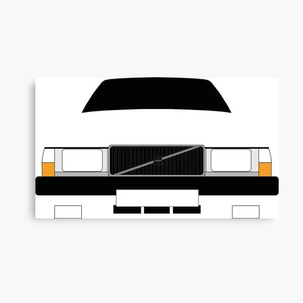 Volvo 740 Canvas Print