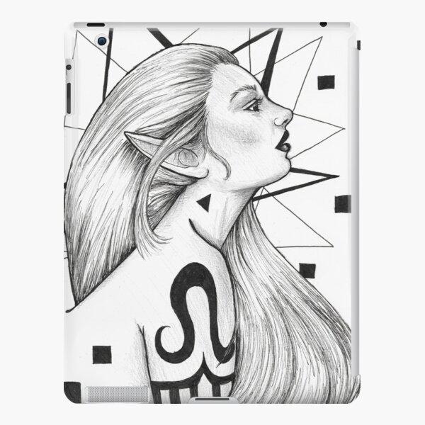 Tattooed Elf iPad Snap Case
