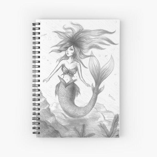 Mermaid #1 Spiral Notebook