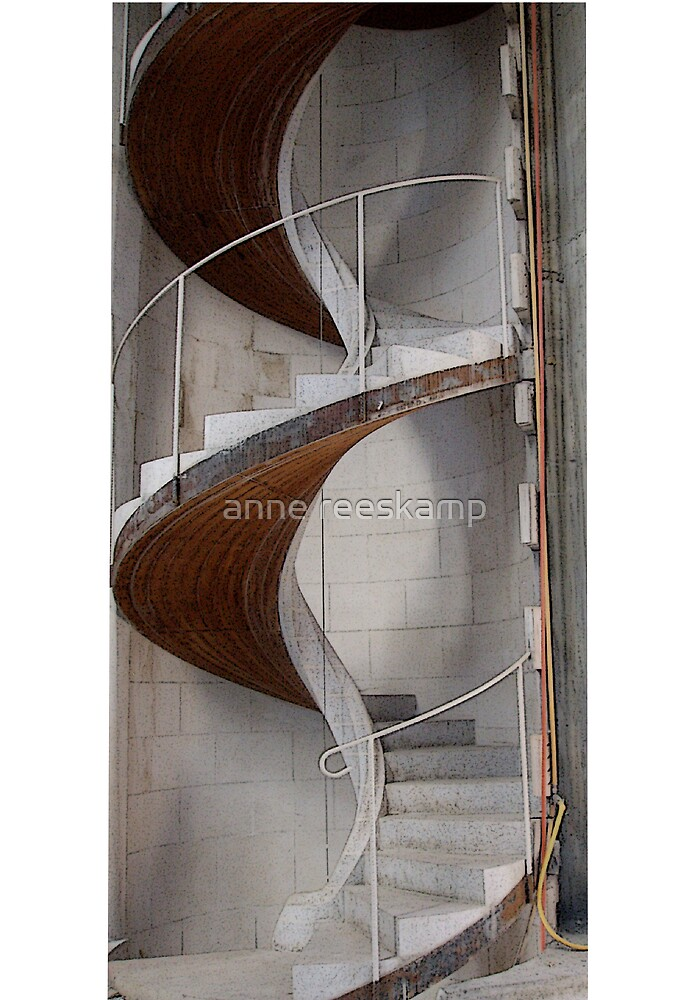 holy stairs by anne reeskamp