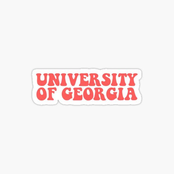 UGA Vintage Sticker