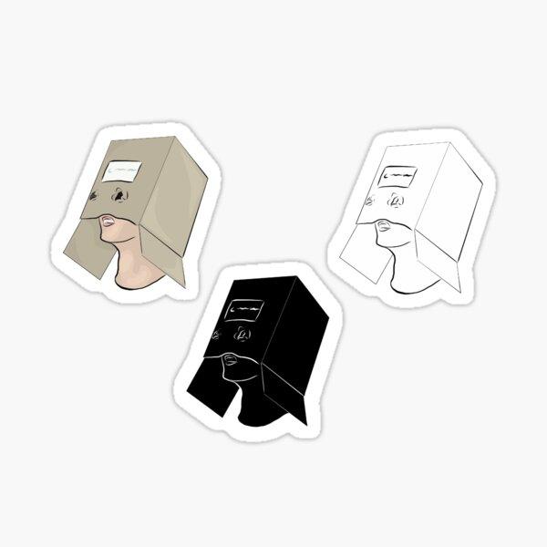 Boxman de Finn Wolfhard Sticker