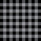 Buffalo Plaid - Black & Grey by MilitaryCandA