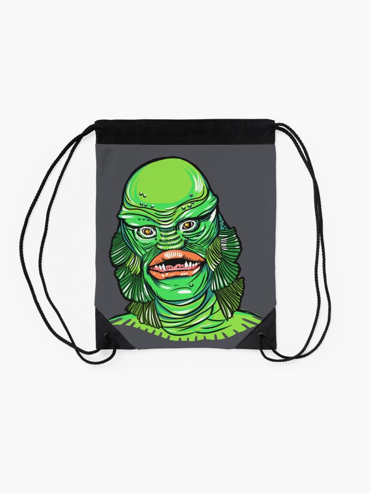 Alternate view of Creature from the Black Lagoon Drawstring Bag