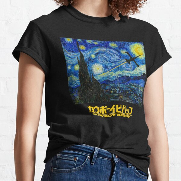 Cowboy Bebop - Starry Night Classic T-Shirt
