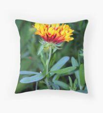 Sleeping Flower Throw Pillow