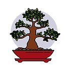 Bonsai Tree - #4 by LadyBaigStudio