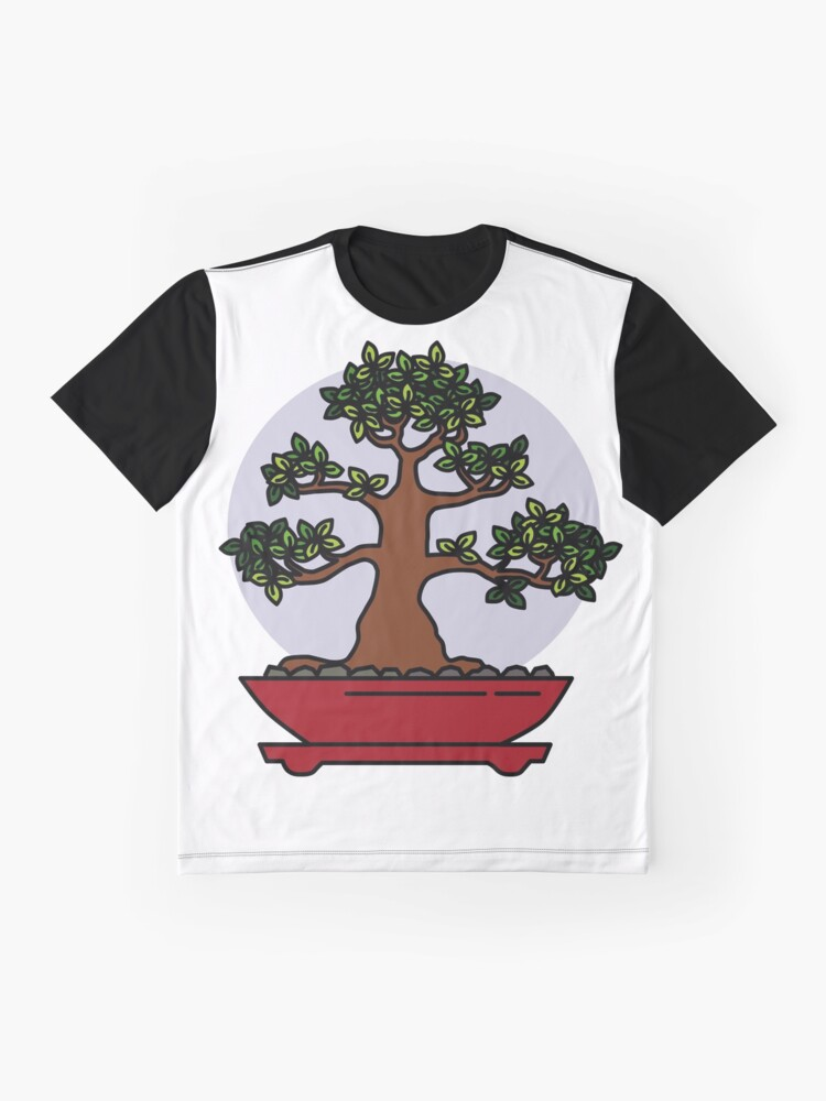 Alternate view of Bonsai Tree - #4 Graphic T-Shirt