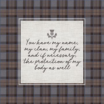 outlander wedding vows by laurathedrawer