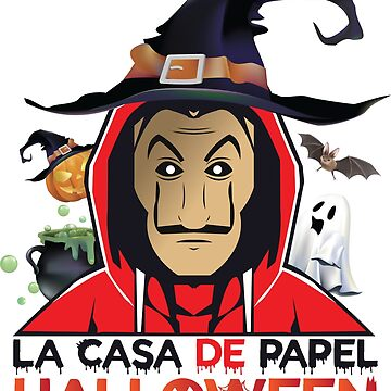 THE CASA OF PAPEL MASCK - Halloween 2018 by Theworrior