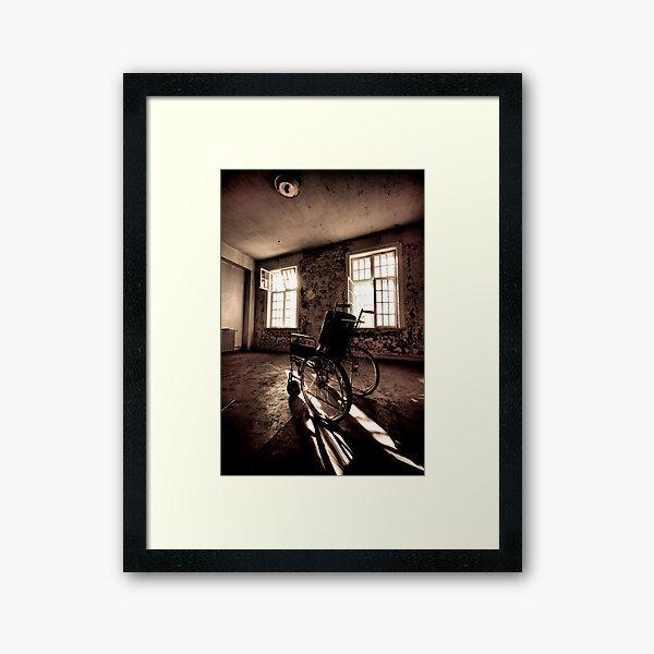 Wheelchair Framed Art Print