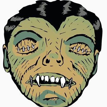 vampires head by bezoomy