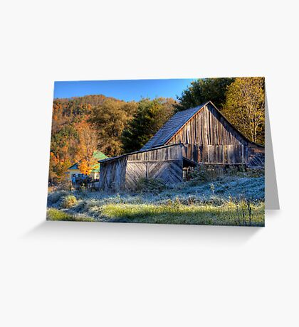 First Frost Greeting Card