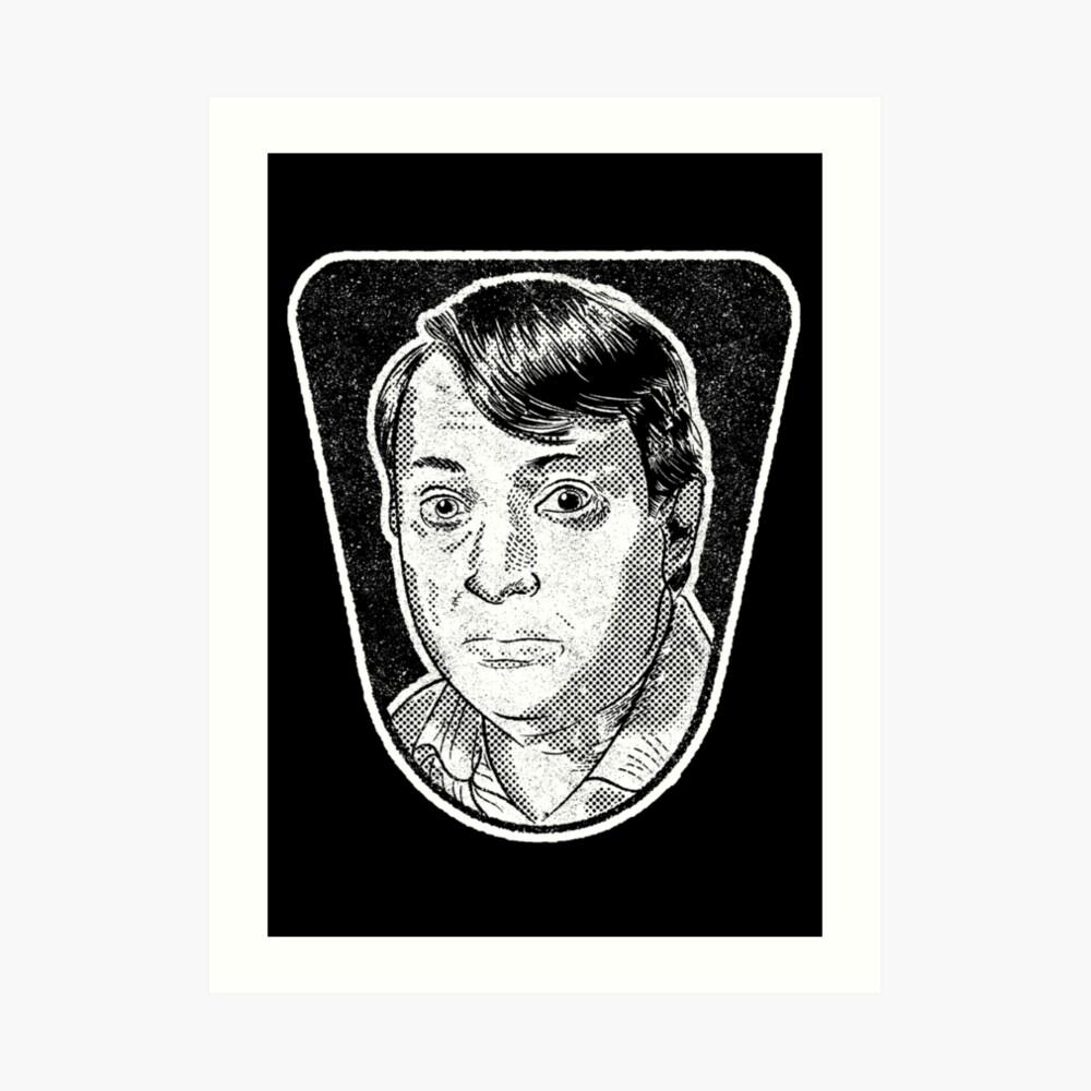 Mark Corrigan – Peep Show Art Print