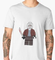 Jason Brick Mini Figure  Men's Premium T-Shirt