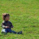 Little man, big world... by Jenni Atkins-Stair
