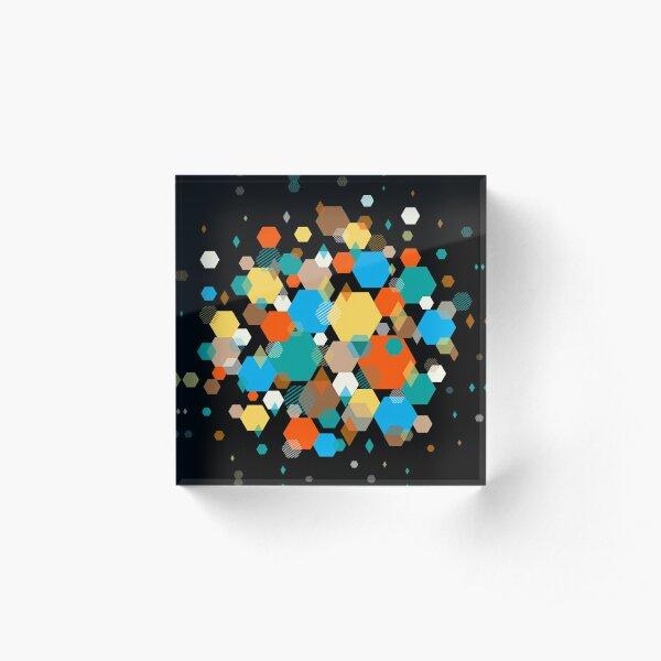 Octagonal Acrylic Block