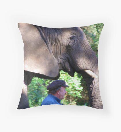 An odd job!   Throw Pillow