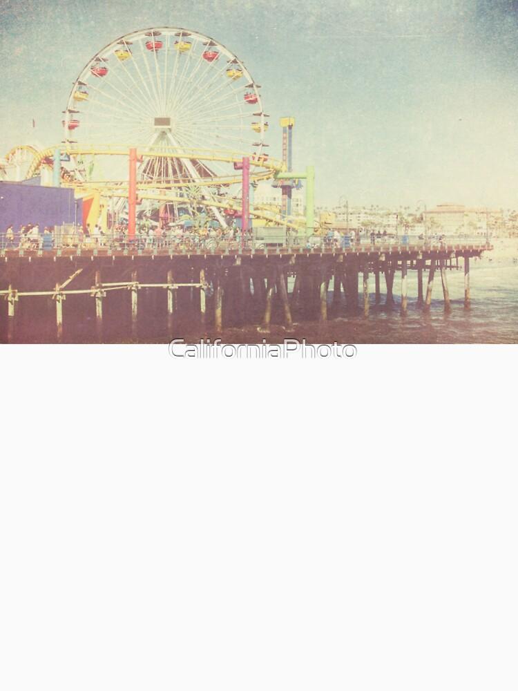 beach house, Santa Monica, Santa Monica Pier, summertime, Venice Beach, palm trees, vintage by CaliforniaPhoto