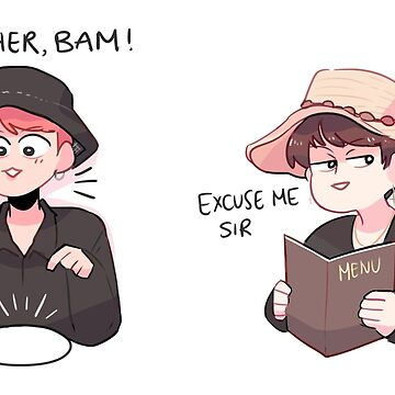 BTS: TWO WAYS TO ORDER FOOD (JK AND SUGA VERSION) by randomsplashes