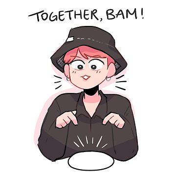 BTS BON VOYAGE S3: TOGETHER, BAM!  by randomsplashes