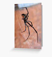 Black Widow II Greeting Card