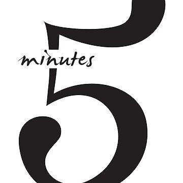 5 minutes by blackb