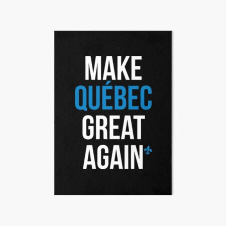 MAKE QUEBEC GREAT AGAIN CANADA HAT DONALD TRUMP CAP BLUE MAGA MONTREAL TORONTO