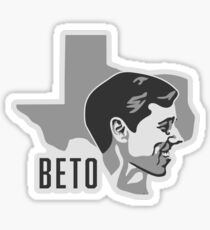 BETO, TEXAS Sticker