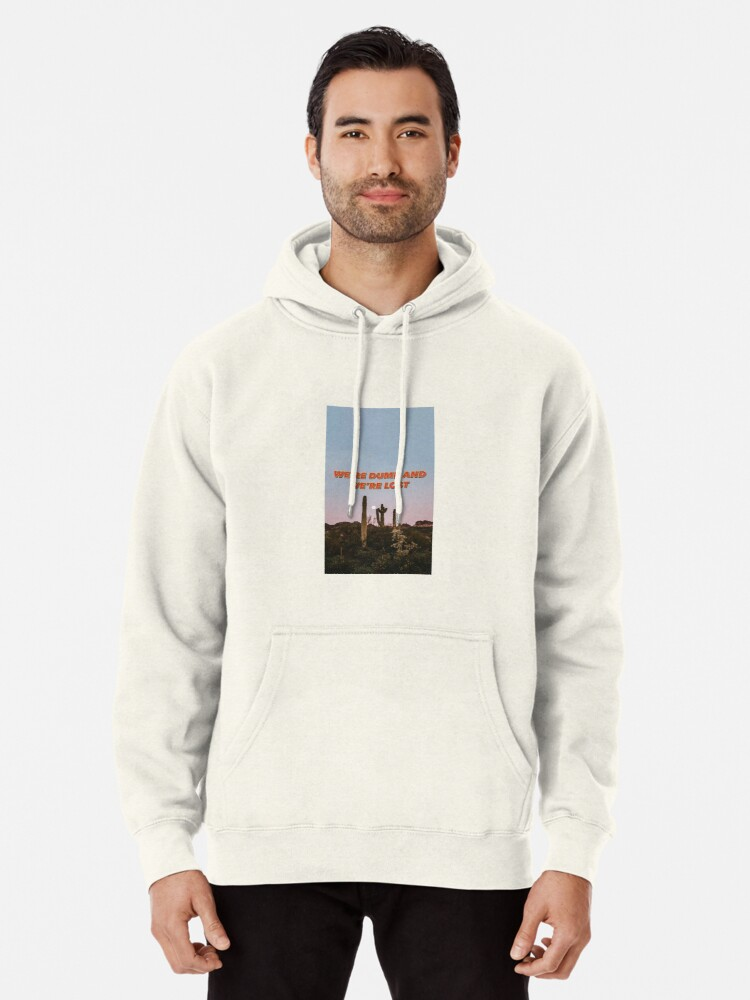 Cactus Lockscreen Mens Front Pouch Pocket Pullover Hoodie Sweatshirt Long Sleeves Pullover Tops