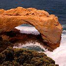 Coastal Rock Formation by John Wallace