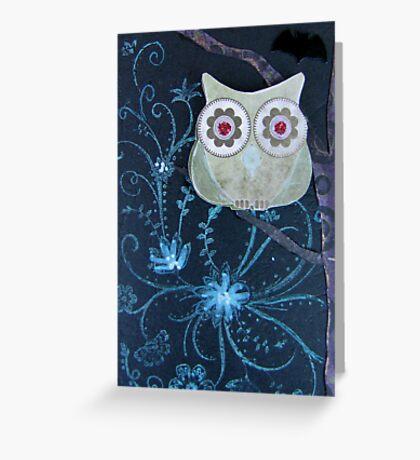 Owl of Paper n Ink Greeting Card