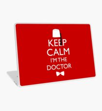 Keep Calm I'm The Doctor Laptop Skin