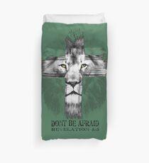 Funda nórdica León de la tribu de Judá: No temas: Apocalipsis 5: 5