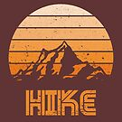 Retro Hike by artlahdesigns