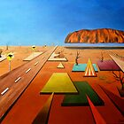 All Roads Lead To Uluru by Cathy Gilday