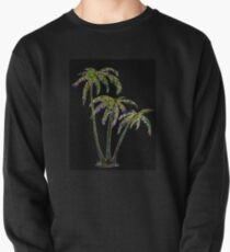 Rainbow Palm Trees Pullover Sweatshirt