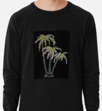 Rainbow Palm Trees Lightweight Sweatshirt