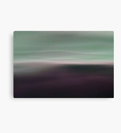 Dreamscape # 21 - green magenta Canvas Print