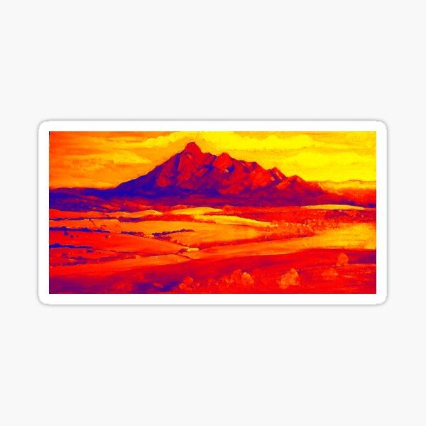 Mt Barney Red.. Sticker
