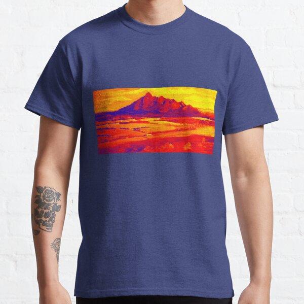 Mt Barney Red.. Classic T-Shirt